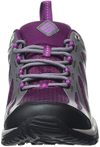 Columbia Peakfreak XCRSN II Xcel Low Outdry, Chaussures de Randonnée Basses Femme Dark Raspberry, Northern Light