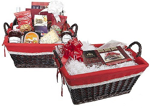 Gift Set Hamper By Kensington Giftware Co ? Includes Wooden Hamper, Film Wrap