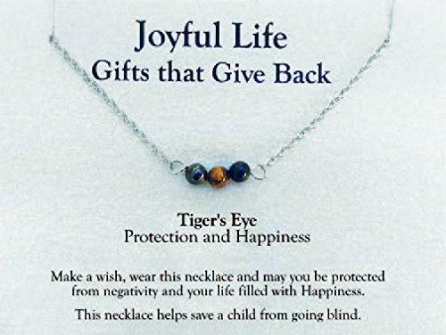 Joyful Life Necklace (Tigers - Necklace Eye Tiger