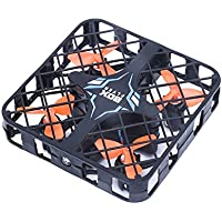 QWinout 2.4GHZ 1602C Super Micro RC Quadcopter Box RTF FPV Camera Mini 4-axis Aircraft Drone Black (WIFI Version)
