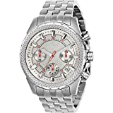 Invicta Signature Chronograph Silver Dial Mens Watch 7096S