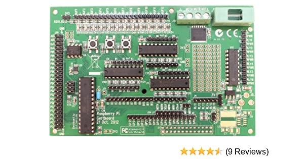 Raspberry Pi GertBoard I/O Extension Board for the