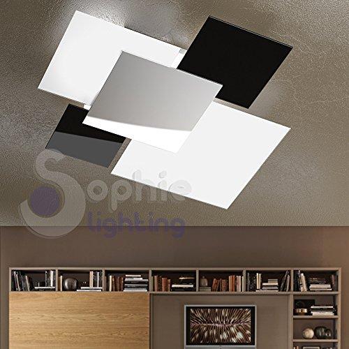 Plafoniera 71x67 Cm Lampadario Lampada Soffitto Design Moderno