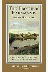 The Brothers Karamazov (Second Edition)  (Norton Critical Editions) Paperback