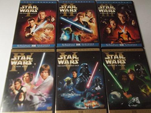 Star Wars 1-6 Dvd Set (Full Screen)