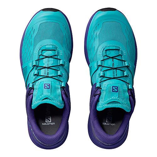 Trail Femme W Pro Salomon Blue Chaussures Ultra w7ZHqv