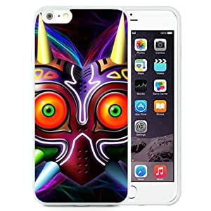 Great Quality iPhone 6 Plus 5.5 Inch TPU Case ,Beautiful And Unique Designed Case With Majora Mask White iPhone 6 Plus Cover Phone Case