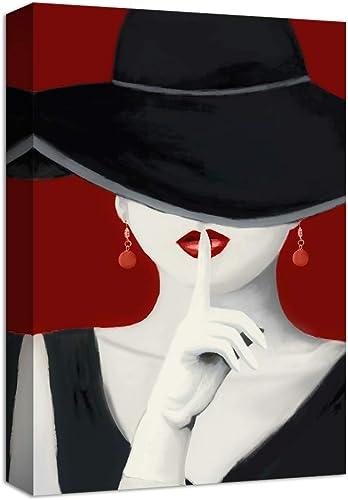NWT Canvas Wall Art Fashion Women Elegant Style Painting Artwork