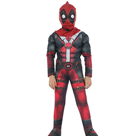 NDHSH Deadpool niño Cosplay Disfraces Disfraz de Halloween ...
