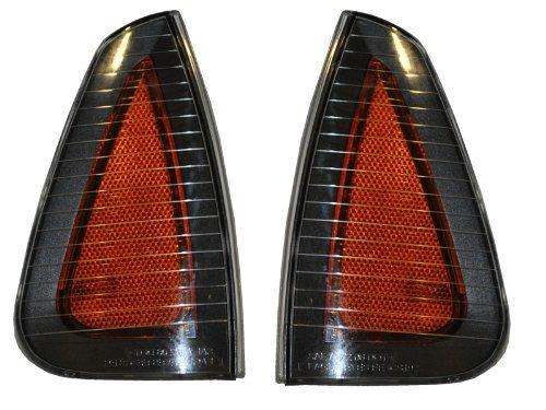 HEADLIGHTSDEPOT Compatible with FRONT SIGNAL LIGHT Dodge Charger SXT, R/T, SE, SRT8 SIDE MARKER LIGHT PAIR