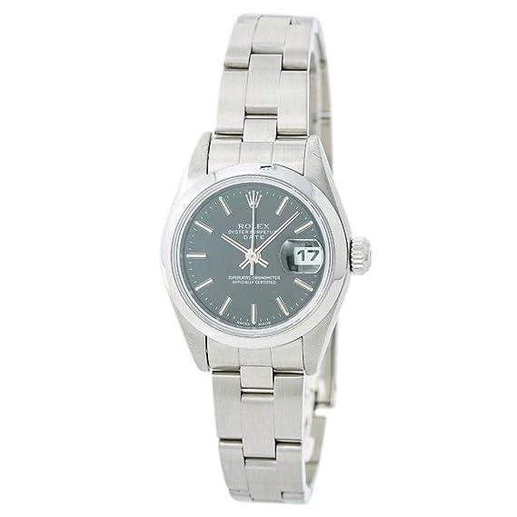 Rolex Date 79160 - Reloj automático para mujer (certificado de autenticidad)