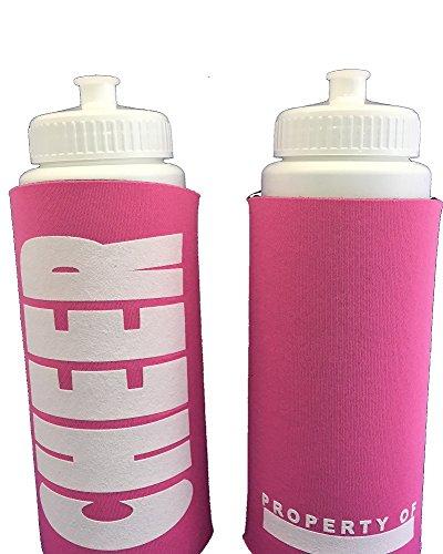 Cheer Water Bottle Insulated (Cheerleader Pink Bottle)