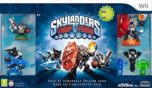 Skylanders Trap Team - Dark Pack De Démarrage [Importación Francesa]: Amazon.es: Videojuegos