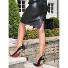 Lederrock SSW-044 : Crazy-Outfits - Webshop für Lederbekleidung, Schuhe & mehr.