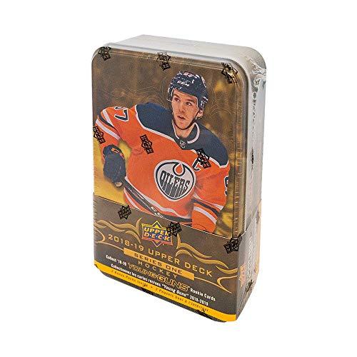 2018-19 Upper Deck Series 1 Hockey 12ct Tin Box