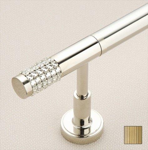 WinarT USA 8.1008.30.05.120 Vesta 1008 Curtain Rod Set - 1.25 in. - Antique Brass - 48 in.   B00DP4JD88