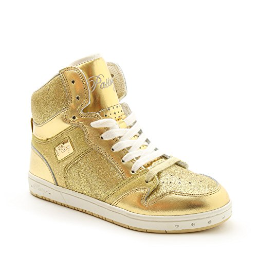 Pastry Glam Pie Glitter Dance Shoe Adult (9, Gold)