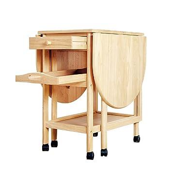 Zr Table Murale Table Pliante En Bois Massif Table A Manger