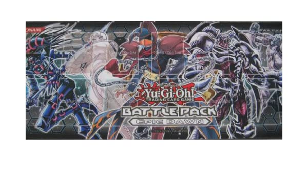 YUGIOH BATTLE PACK EPIC DAWN PLAY MAT PLAYMAT kaartspellen Verzamelingen