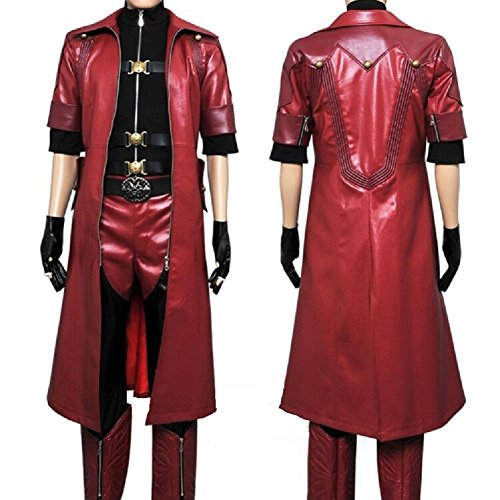 Wolfbar Dmc Devil May Cry 4 Dante Coat Outfit Uniform Suit Import It All