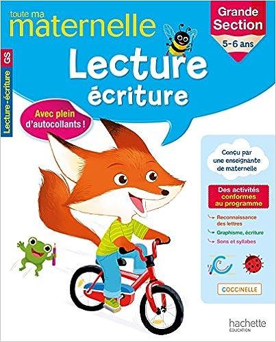 Livre gratuits Toute Ma Maternelle - Lecture Écriture Grande Section pdf, epub ebook