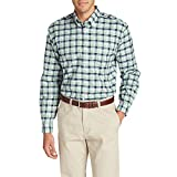 Eddie Bauer Mens Wrinkle-Free Relaxed Fit Oxford Cloth Shirt - Pattern