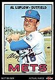 1967 Topps # 433 Al Luplow New York Mets (Baseball Card) Dean's Cards 4 - VG/EX Mets