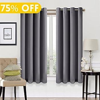 Amazon.com: Deconovo Room Darkening Thermal Insulated Blackout ...