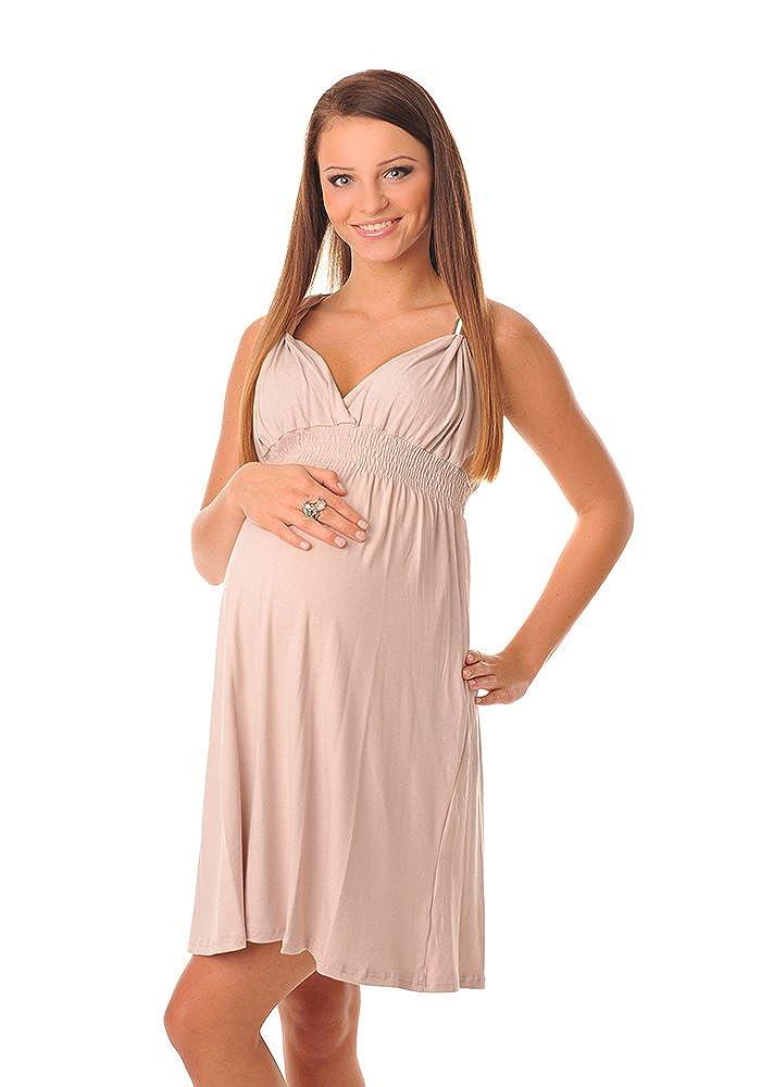 Purpless Maternity Maternidad Vestido Para el Verano 8423: Amazon.es: Ropa y accesorios