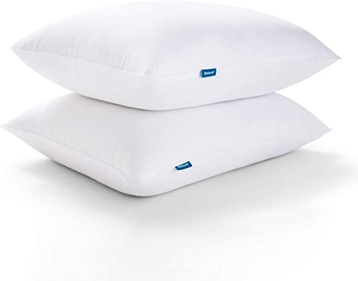Bedsure Queen Pillows for Sleeping - Premium Down Alternative Hypoallergenic Hotel Pillows - Soft Bed Pillows 2 Pack for Side and Back Sleeper (20x30 inches)