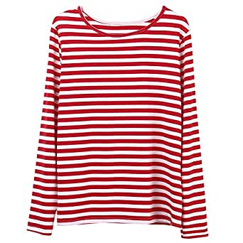 Striped Shirts for Women Of all the looks you can be confident will last, women's striped tops must be at, or near the top. Striped tops for women are incredibly versatile, as you can find one suitable for almost any occasion. And as long as striped tops have been around, new .