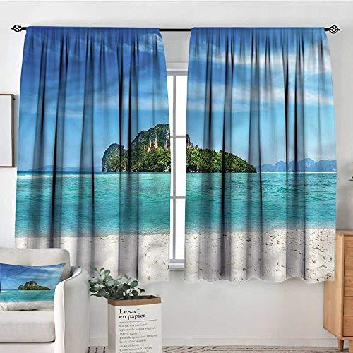 Sanring Island,Rod Curtains Coastline in South East Asia 104