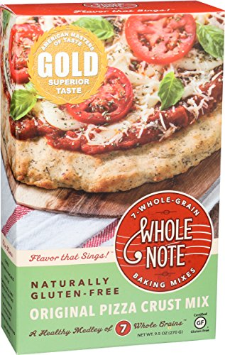 Whole Foods Pizza (Whole Note Original Pizza Crust Mix (Pack of 3))