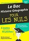 Le Bac Histoire-Géographie pour les Nuls par Vessemont