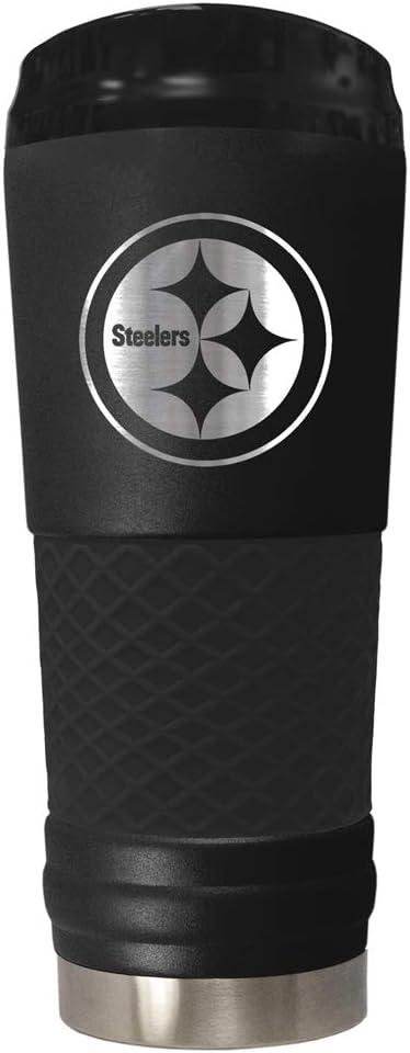Great American Ohio State Buckeyes 24oz Stealth Draft Beverage Tumbler