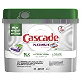 Health & Personal Care : Cascade Platinum ActionPacs Dishwasher Detergent with the Power of Clorox, Fresh, 44 count (Packaging May Vary)