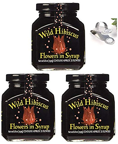 Shopus Wild Hibiscus Flowers In Syrup 88 Oz 3 Pack 3