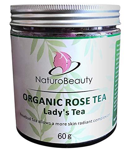 (NaturoBeauty Rose Bud Tea for Anti-Aging)