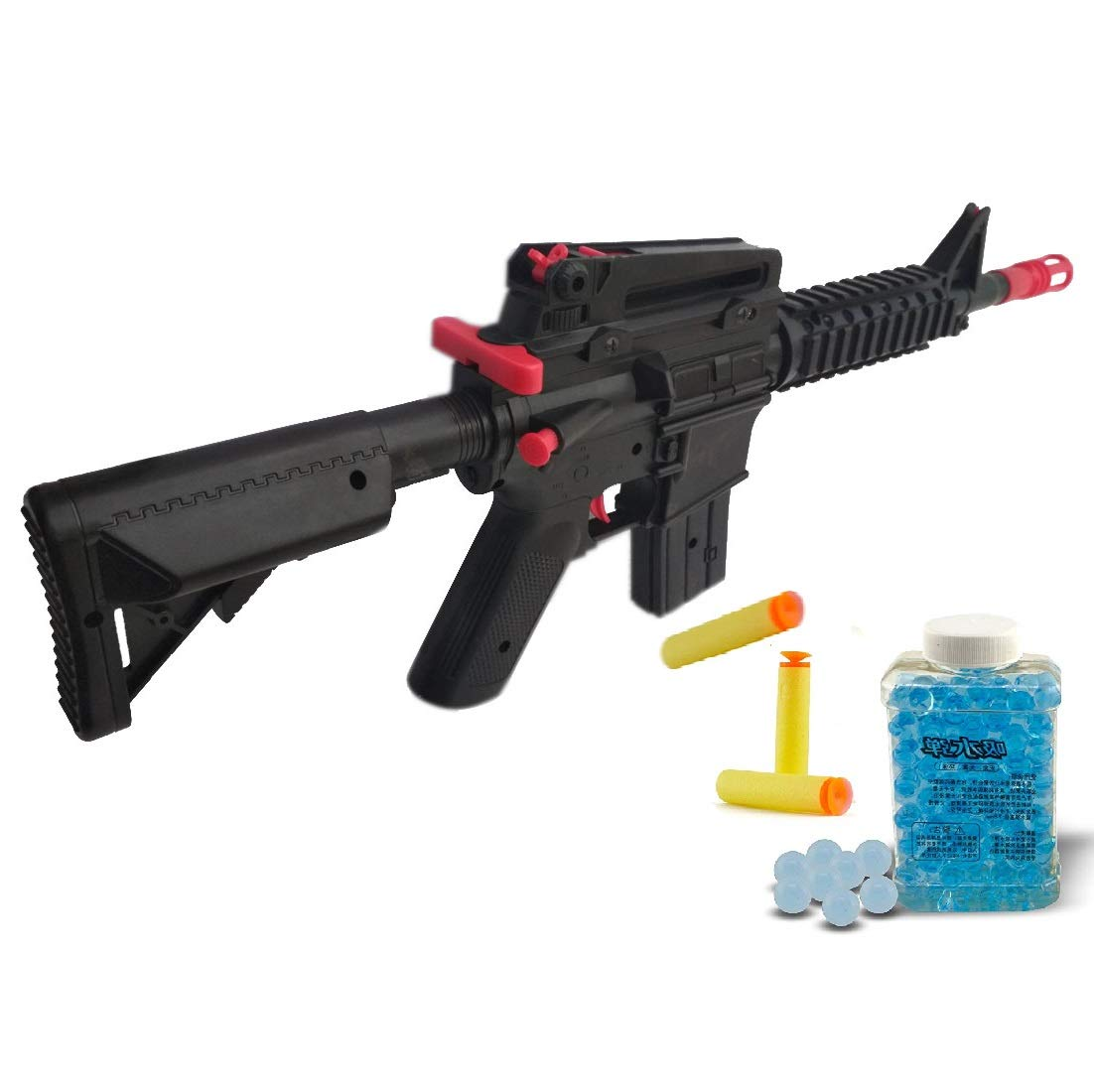 Buy Indusbay 2 In 1 Soft Bullets And Water Bullets Toy Gun Sniper Gun Toy For Kids Online At Low Prices In India Amazon In