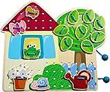 Best HABA Board Games Kids - Greta's Garden Threading Game Toys & Games Review