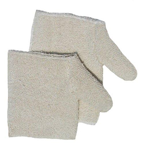 32 oz Regular White Carolina Glove /& Safety Company Carolina Glove /& Safety HP32 Heavy Weight Terry Hand Pad