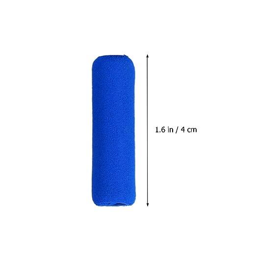 Pixnor - Agarre para lápiz protector de dedos de espuma suave antideslizante, 10 unidades (color al azar).: Amazon.es: Hogar
