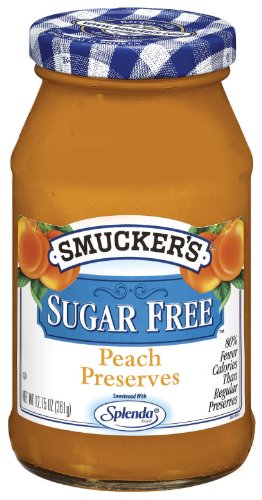 (Smucker's  Sugar Free Peach Preserves, 12.7500-Ounce (Pack of)