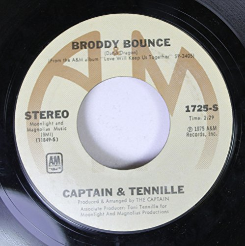 Rpm Records 45 Way (Captain & Tennile 45 RPM Broddy Bounce / The Way I Want To Touch You)