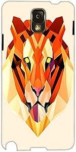 Snoogg Tigre Polígono Cubierta De La Caja Trasera Protectora 2896 Del Diseñad...