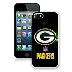 Hot Sale iPhone 5 5S Screen Case ,Green Bay Packers 40 White iPhone 5 5S Cover Unique And Popular Designed Phone Case