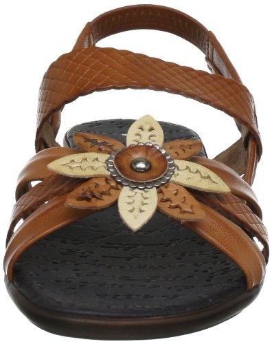 Maybe mb7134 7134 - Zapatos de pulsera de cuero para mujer Marrón (Braun  (Roble ... f1d1c83f4ecb