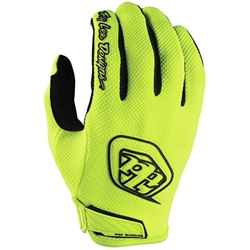 2018 Troy Lee Designs Youth Air Gloves-Flo Yellow-YL