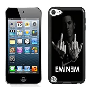 DIY Ipod Touch 5 Case Design with Eminem Ipod Touch 5 5th Generation Phone Case in Black
