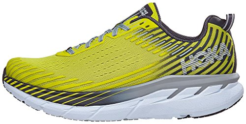 Hoka Clifton 5 Mens Running Trainer Neon Yellow Multiple Colours hrAmH5eS